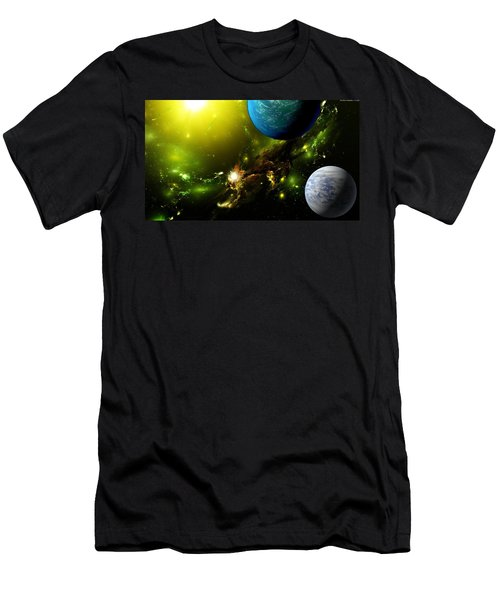 Sci Fi Men's T-Shirt (Athletic Fit)