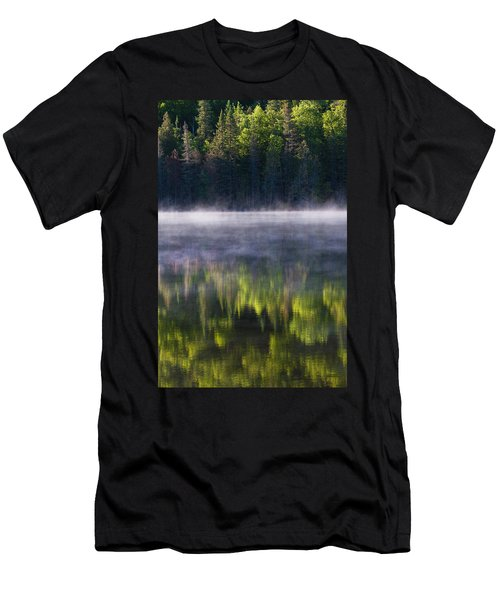 Summer Morning Men's T-Shirt (Slim Fit) by Mircea Costina Photography