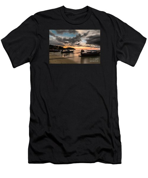 Sunset Over Koh Lipe Men's T-Shirt (Athletic Fit)