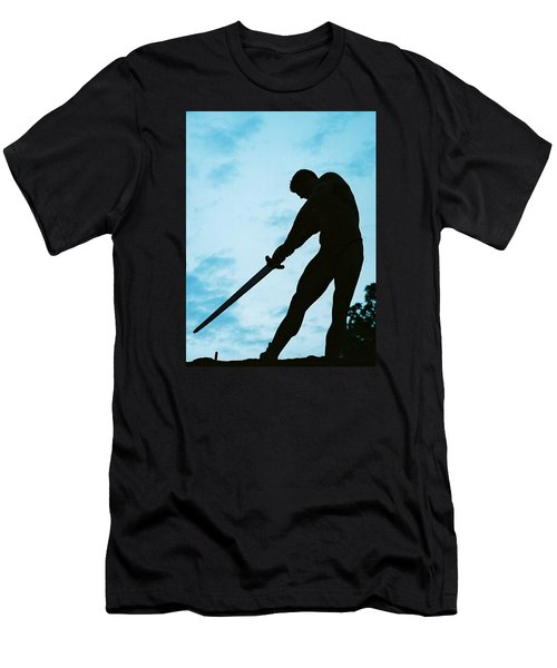 Men's T-Shirt (Slim Fit) featuring the photograph The Gladiator by Jake Hartz