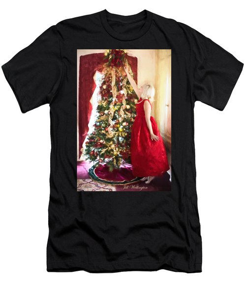 Vintage Val Home For The Holidays Men's T-Shirt (Athletic Fit)