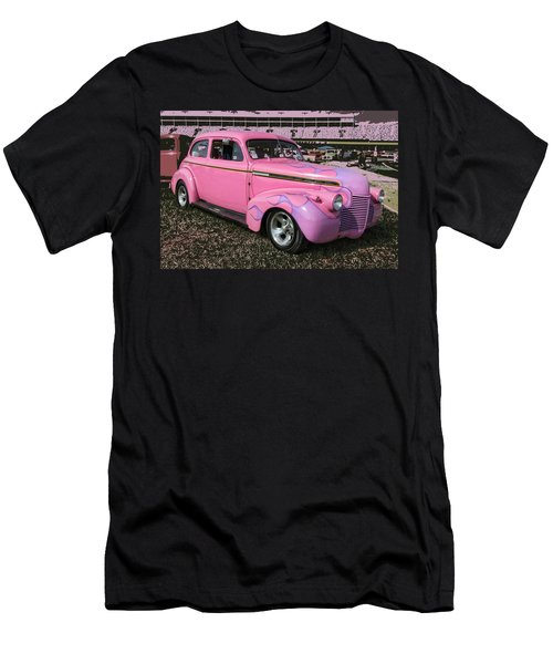 Men's T-Shirt (Slim Fit) featuring the photograph '40 Chevy by Victor Montgomery