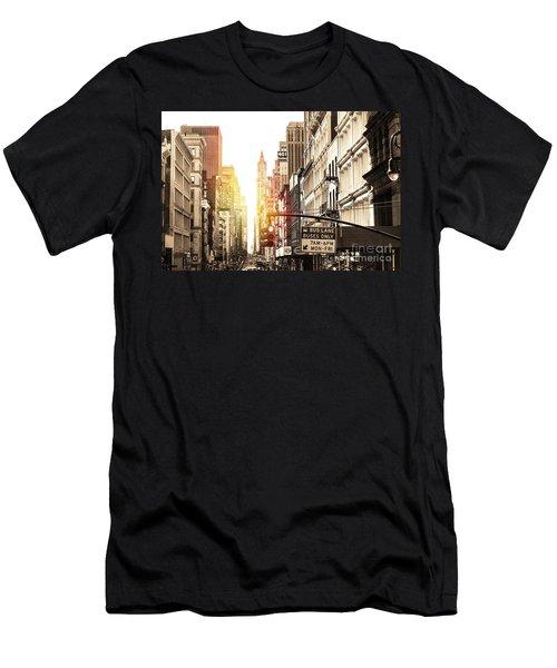 401 Broadway Men's T-Shirt (Athletic Fit)
