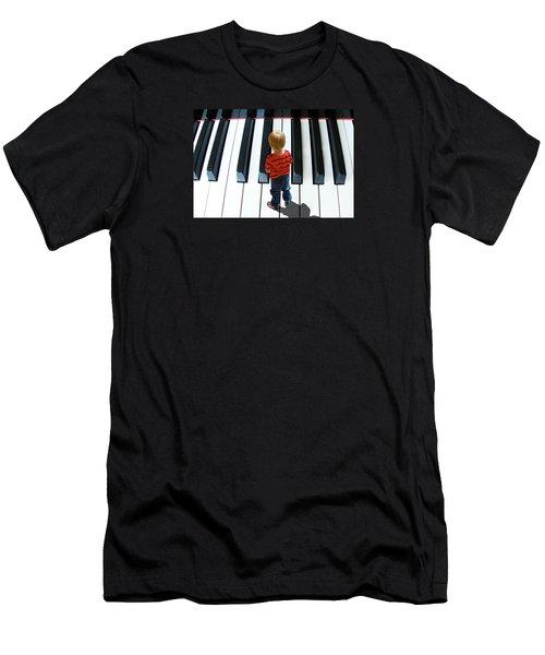 4021 Men's T-Shirt (Slim Fit) by Peter Holme III