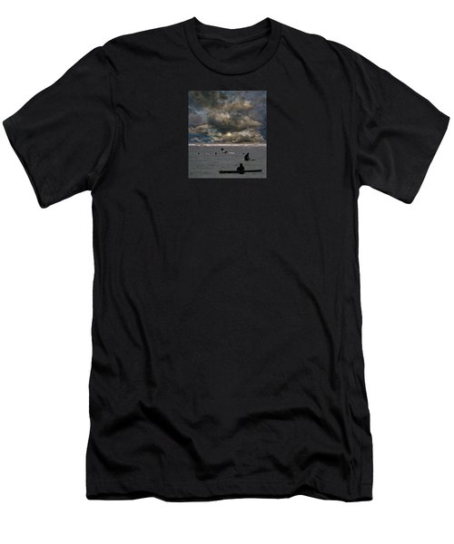 Men's T-Shirt (Slim Fit) featuring the photograph 4367 by Peter Holme III
