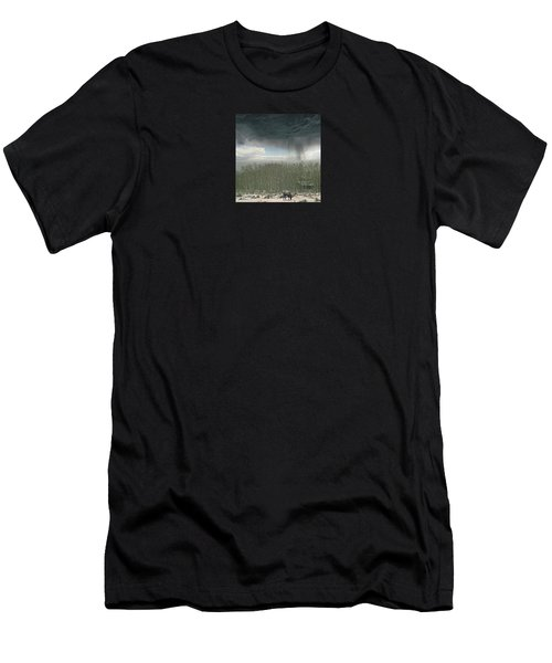 Men's T-Shirt (Slim Fit) featuring the photograph 4375 by Peter Holme III