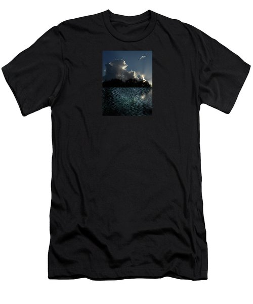 Men's T-Shirt (Slim Fit) featuring the photograph 4377 by Peter Holme III