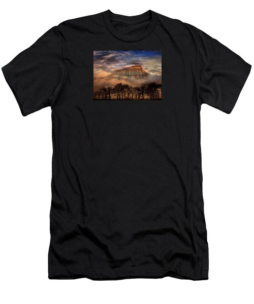 Men's T-Shirt (Slim Fit) featuring the photograph 4381 by Peter Holme III