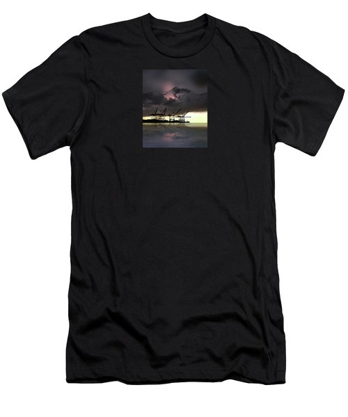 Men's T-Shirt (Slim Fit) featuring the photograph 4396 by Peter Holme III