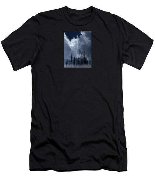 Men's T-Shirt (Slim Fit) featuring the photograph 4404 by Peter Holme III