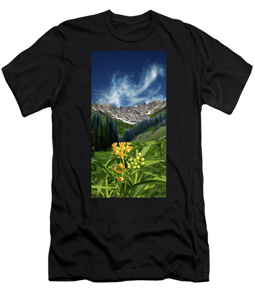 Men's T-Shirt (Slim Fit) featuring the photograph 4415 by Peter Holme III