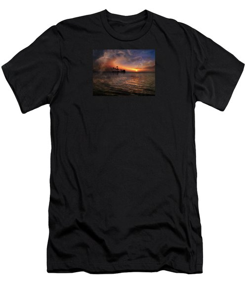 Men's T-Shirt (Slim Fit) featuring the photograph 4419 by Peter Holme III