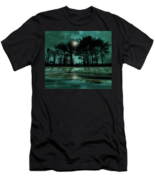 Men's T-Shirt (Athletic Fit) featuring the photograph 4466 by Peter Holme III