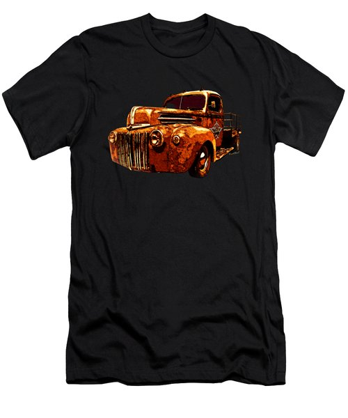 46 Ford Flatbed Redux From The Laboratories At Vivachas Men's T-Shirt (Athletic Fit)