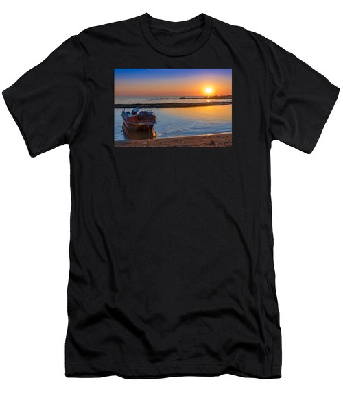 // Men's T-Shirt (Slim Fit) by Stavros Argyropoulos