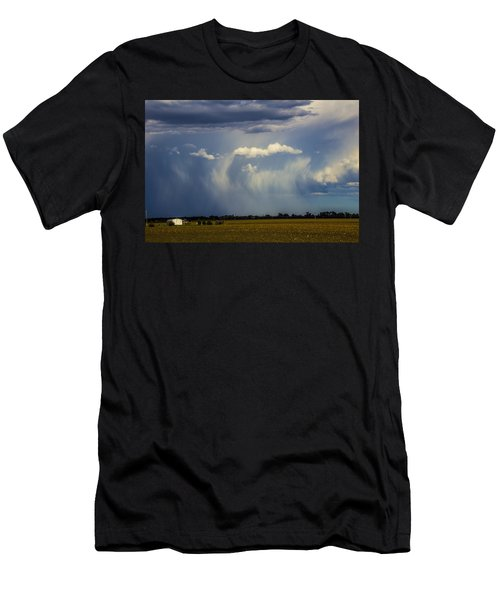 Afternoon Nebraska Thunderstorm Men's T-Shirt (Athletic Fit)