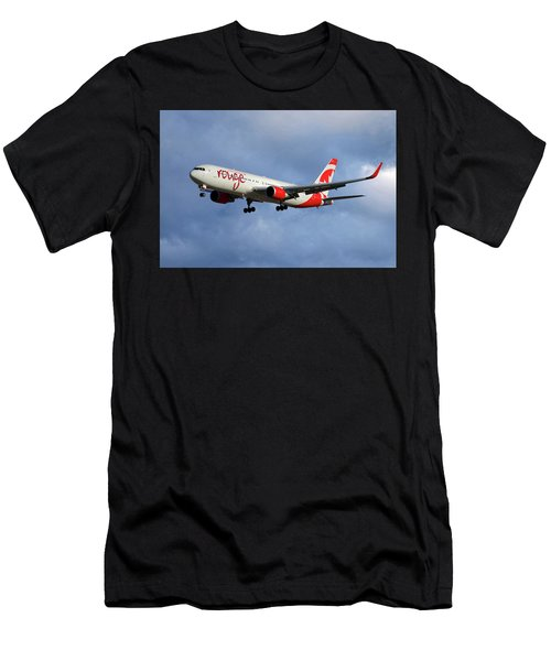 Air Canada Rouge Boeing 767-333 117 Men's T-Shirt (Athletic Fit)