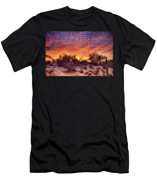 Arizona Sunrise Men's T-Shirt (Athletic Fit)