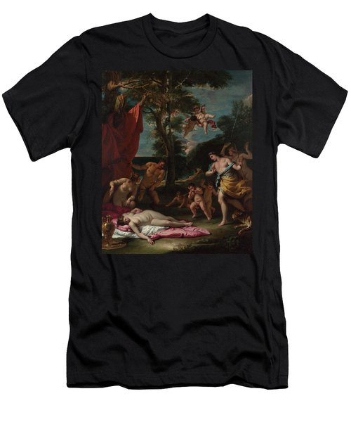 Bacchus And Ariadne Men's T-Shirt (Athletic Fit)