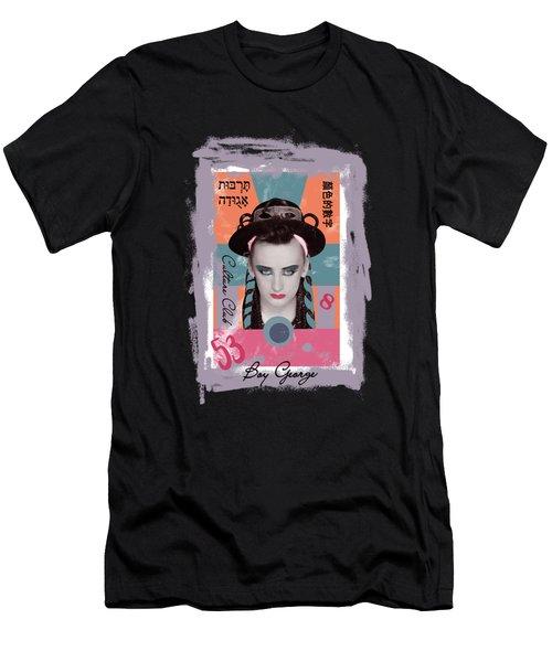 Boy George  Men's T-Shirt (Athletic Fit)