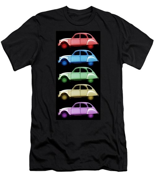 5 Citroens Men's T-Shirt (Slim Fit) by Andrew Fare