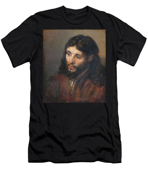 Head Of Christ Men's T-Shirt (Athletic Fit)