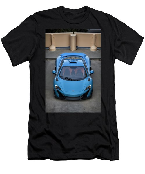 #mclaren #675lt #print Men's T-Shirt (Athletic Fit)