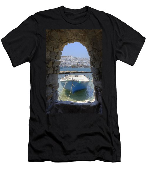 Paros - Cyclades - Greece Men's T-Shirt (Athletic Fit)