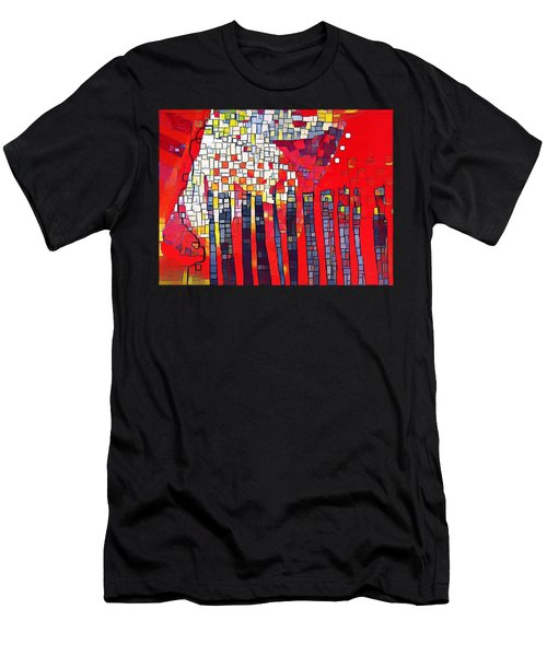 Red Series 4 Men's T-Shirt (Athletic Fit)