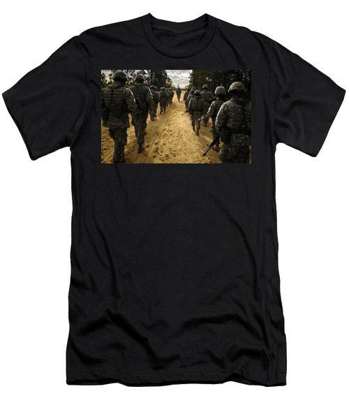 Soldier Men's T-Shirt (Athletic Fit)