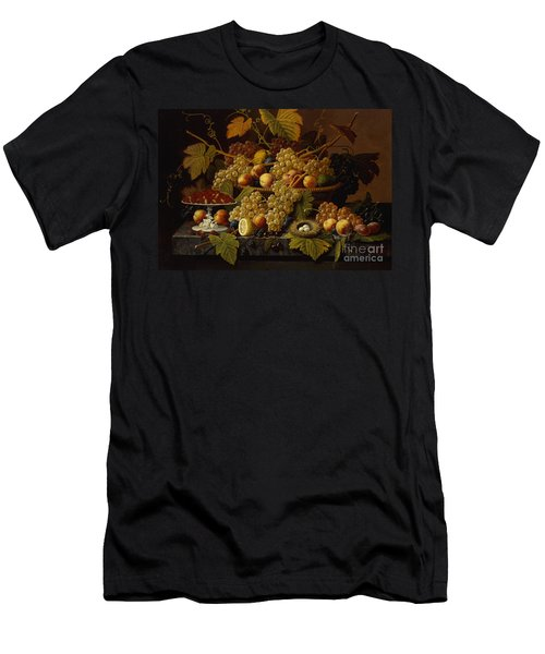 Still Life With Fruit Men's T-Shirt (Athletic Fit)