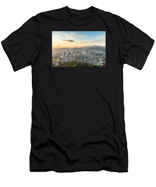 Sunset Over Seoul Men's T-Shirt (Athletic Fit)