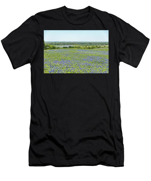 Texas Bluebonnets 10 Men's T-Shirt (Athletic Fit)