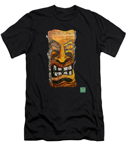Tiki Art Men's T-Shirt (Athletic Fit)