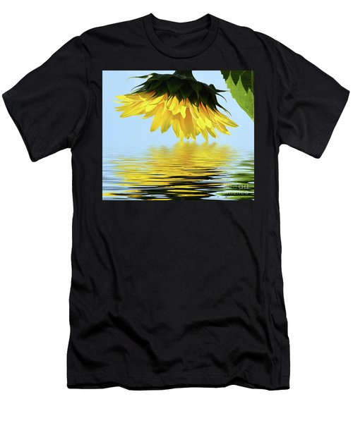 Nice Sunflower Men's T-Shirt (Athletic Fit)