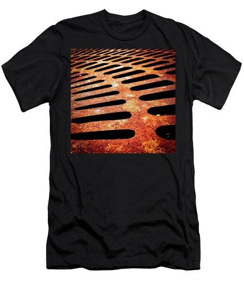Iron Detail Men's T-Shirt (Athletic Fit)