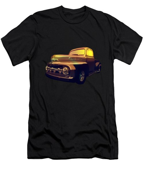 52 Ford Pickup Moody Morning Men's T-Shirt (Athletic Fit)