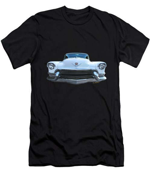 55 Cadillac Down Inna Meadow Up In Kerrville Men's T-Shirt (Athletic Fit)