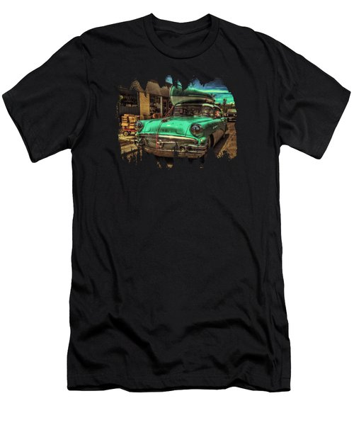 57 Buick - Just Coolin' It Men's T-Shirt (Athletic Fit)