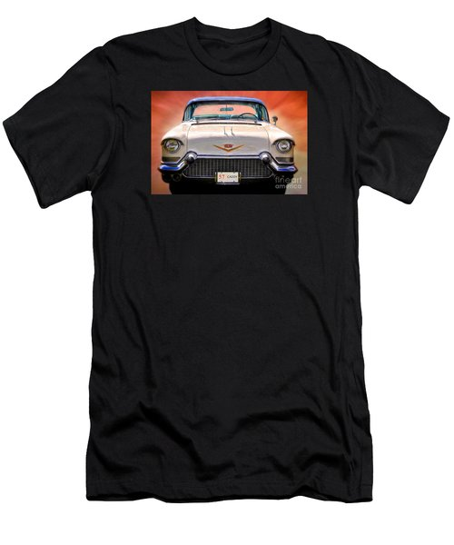 57 Caddy Men's T-Shirt (Slim Fit) by Suzanne Handel
