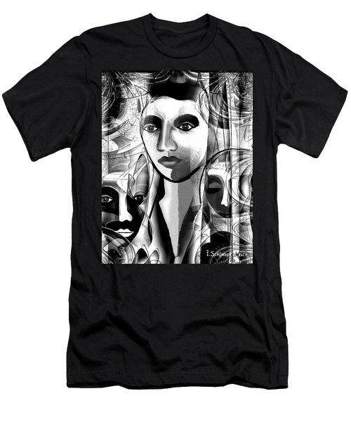 595 -  A Face A ... Men's T-Shirt (Athletic Fit)
