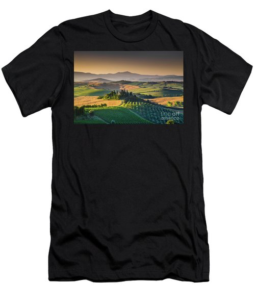 A Morning In Tuscany Men's T-Shirt (Athletic Fit)