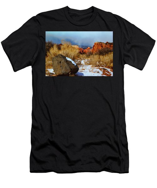 Captiol Reef National Park  Men's T-Shirt (Athletic Fit)