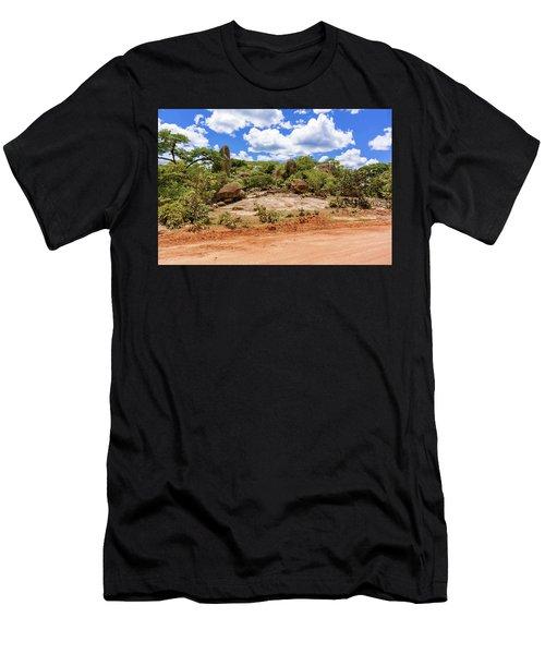 Landscape In Tanzania Men's T-Shirt (Athletic Fit)