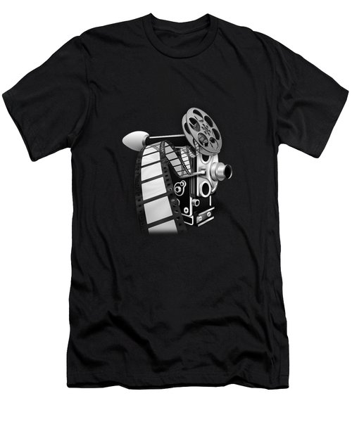 Movie Room Decor Collection Men's T-Shirt (Athletic Fit)