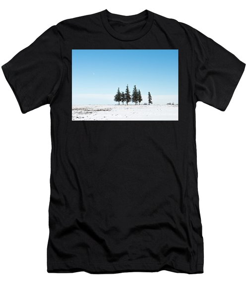 6 Pines And The Moon Men's T-Shirt (Athletic Fit)