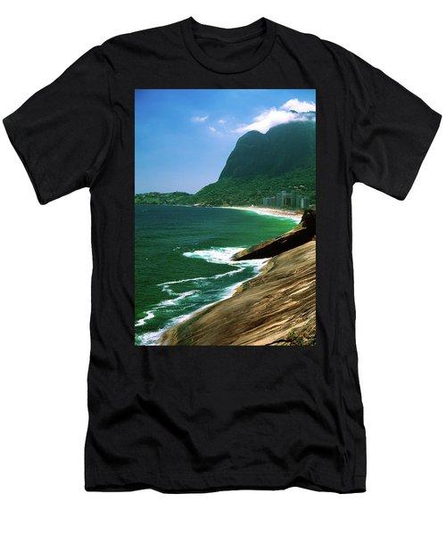 Rio De Janeiro Brazil Men's T-Shirt (Athletic Fit)