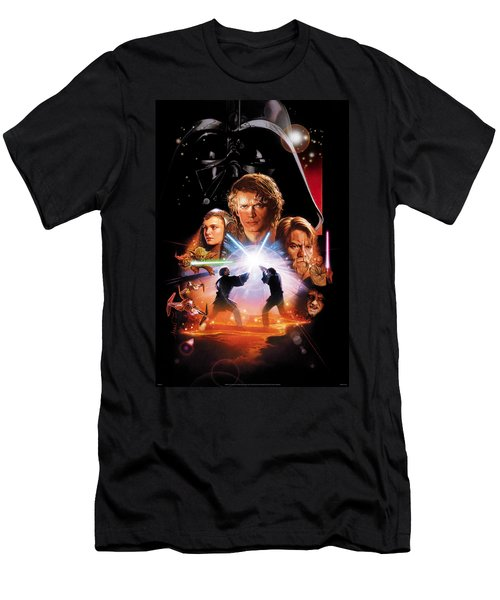 Star Wars Episode IIi - Revenge Of The Sith 2005 Men's T-Shirt (Athletic Fit)
