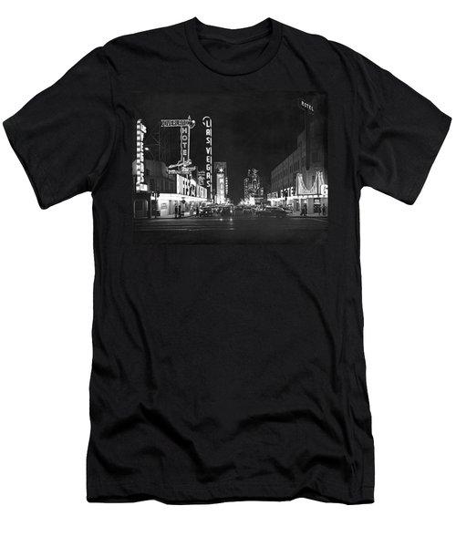 The Las Vegas Strip Men's T-Shirt (Athletic Fit)