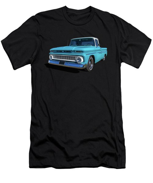 60s Pickup Men's T-Shirt (Slim Fit) by Keith Hawley